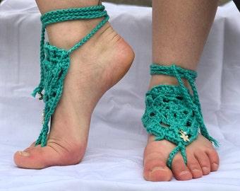 Barefoot Sandal- Ocean