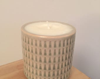 Rustic Hand Made Candle