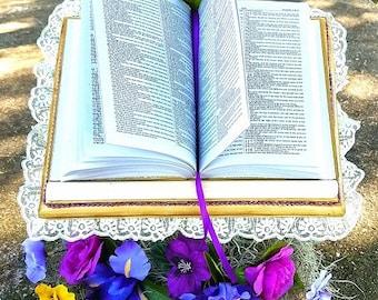 Beautiful Handmade Bible Stand