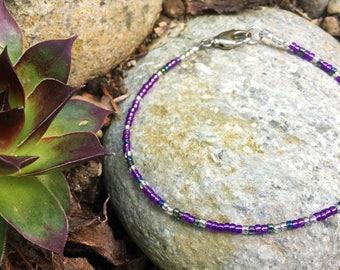 Looking for a Mind at Work Morse Code Bracelet / Custom Color/ Hamilton Jewelry / Secret Message Jewelry / Layering Bracelet / Nerd Geek Fan