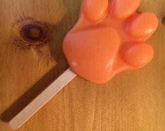 Orange scented Paw-sicle Soap (Zootopia)