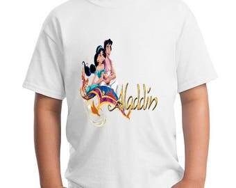 ALADDIN - FILM  -  childrens  - t-shirt