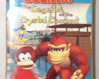Donkey Kong Country the Legend of the Crystal Coconut - VHS