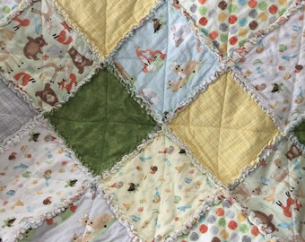Cotton Flannel Rag Quilt