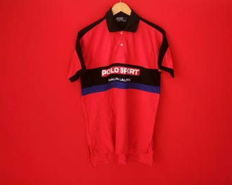 vintage ralph lauren polo sport medium mens