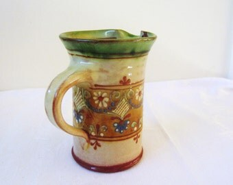 French hand painted jug