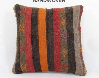 kilim pillow cover decorative pillow anatolian pillow throw cushion south kilim pillow kilim cushion sofa cushion cover sofa pillow 000076