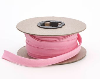 "Quilt binding, p/c, 7/8"" doublefold, 25 yds, Pink"