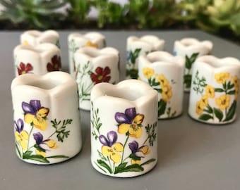 Vintage Funny Design Mini Candle Holders