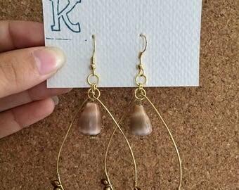 Cone Shell Beaded Earrings