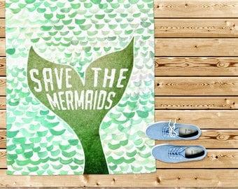 Beach towel, mermaid tail towel, nautical gift, mermaid towel, beach house, mermaid gift, purple towel, girl towel, for her, beach gift