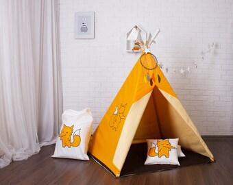 Childrens teepee, play tent, tipi, zelt, wigwam, kids teepee, tent, play teepee, high quality wigwam