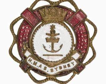 HMAS Sydney sweetheart brooch