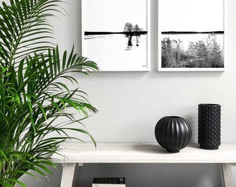 Nordic Landscape I - Print I Art prints I Posters And Prints I Home Wall Decor I Wall Art I Home Decor I Black And White Photography