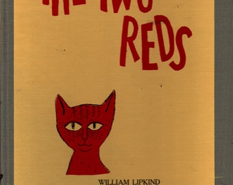 The Two Reds - William Lipkind and Nicolas Mordvinoff - 1950 - Vintage Kids Book