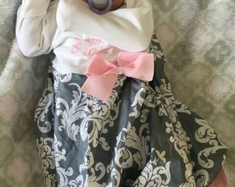 coming home outfit baby girl, take home outfit, monogrammed baby, trendy baby clothes, baby girl outfits, cute baby clothes, newborn layette