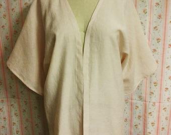 Handmade Pink kimono OOAK M-L
