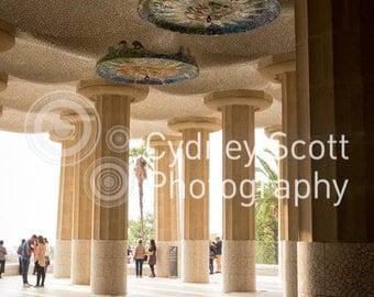 Barcelona, Park Guell, Gaudi, travel photo, Fine Art Photography, travel photography, Gallery Prints