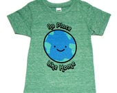 No Place Like Home Earth T-Shirt - Organic Triblend