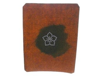 Vintage Japanese Stencil - Vintage Stencil -  Family Crest Stencil - Flower - (ST147) - Chinese bellflower - balloon flower