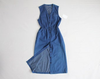 blue denim dress | indigo dress | denim dress women