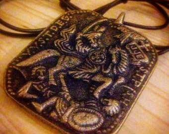 SAN MIGUEL talisman amulet St Michael ARCANGEL good luck Anting Anting Agimat Philippines