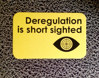 10 postcards deregulation is short sighted EPA wall street oversight WTF
