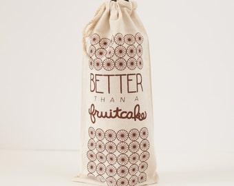 holiday gift wrap wine bag gift bag