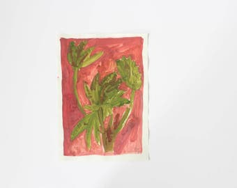 Faye Moorhouse Wonky Drawing Sale - Original painting illustration home decor