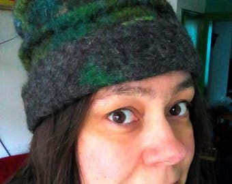 handfelted hat