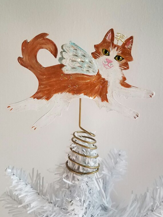 cat tree topper mini creamsicle angel longhair cat mini. Black Bedroom Furniture Sets. Home Design Ideas