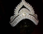 Mukut for Bengali Wedding: Custom Handcrafted in US with Foam on Paper