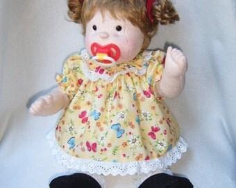 Doll, Cloth doll, Soft sculpture doll, Baby doll, Cloth baby doll, Collector doll, Rag doll, Waldorf inspired, soft doll, soft baby doll