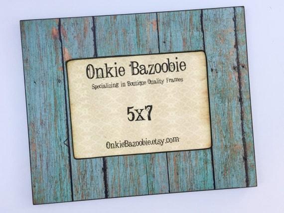 Rustic Barn Wood Print Photo Frame 4x4 4x6 5x7 From