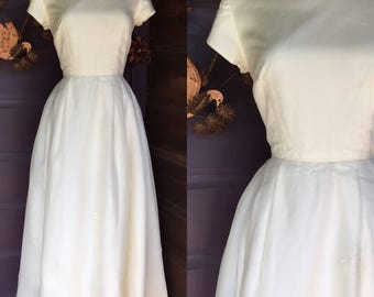 Lovely 1960s Wedding Dress | Sweet 60s Ballerina Wedding Dress