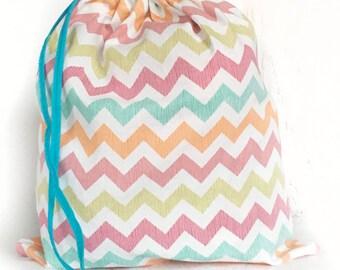 Knitting Bag - Crochet Bag- Project Bag- Travel Knitting Bag- Gifts for Knitters- Knitting Pouch- Shawl Knitting- Sock Knitting- Toy Bag