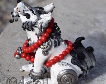 Temple Dog - Polymer Clay Original Sculpture