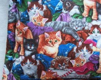 """Catnip Pillow - Cute Kittens 16 3/4"""" x 16 3/4"""" Cat Mat"""
