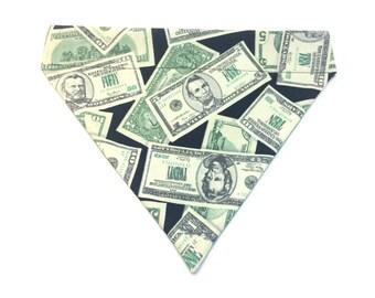 Pet Accessory - Cash Money - Over-the-Collar - Custom - Bandana, Bow Tie, Neck Tie, Flower