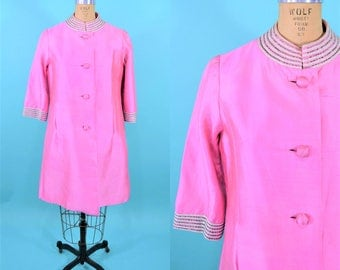 """1960s silk jacket 