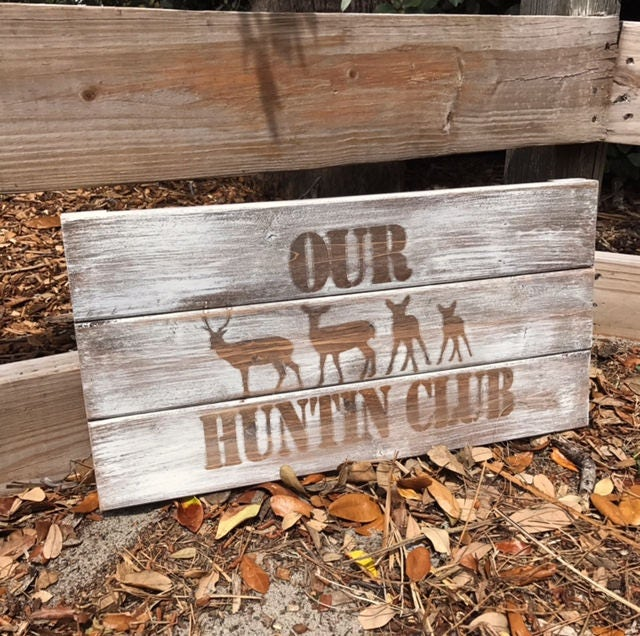 The Man Cave Store Red Deer : Personalized rustic sign deer family hunting