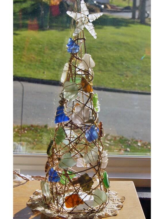 Reseerved For Donnaleewheeler Golden Lighted Sea Glass