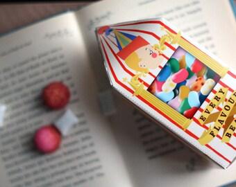Harry Potter Bertie Botts Box Boxes Christmas Ornament - DIY Calendar PDF Instant Download