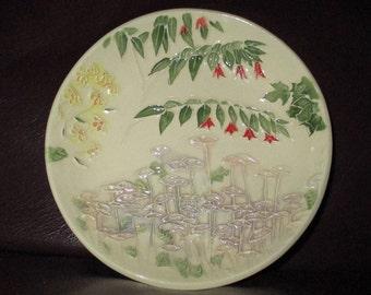 "Garden Handmade Ceramic wall hanging   5""                                              230"