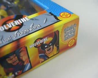 X-Men Wolverine Action Figure 2-Pack - 90s Marvel Comics X-Men Wolverine & Weapon X with Collectible Keychain in Unopened Box - X-Men Toy