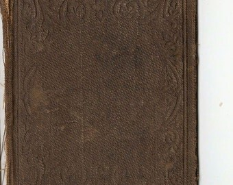 1861 Very Small Antique Book Covers