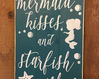 Mermaid Kisses and Starfish Wishes