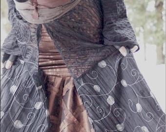 Obi Belt - Belt - Copper Brown Taffeta - Wrap around Belt - Bohemian Gypsy Style - Sexy - Clothing Accessory - Handmade Fashion - ONE SIZE