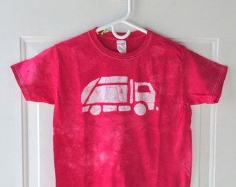 Garbage Truck Shirt, Red Garbage Truck Shirt, Kids Truck Shirt, Boys Truck Shirt, Girls Truck Shirt, Red Truck Shirt (Youth S)
