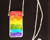 These Colors Don't Run - Necklace - Fundraiser for FreeState Justice
